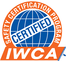 IWCA certified windows cleaner