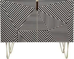three of the possessed dazzle apartment sideboard deny designs