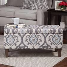 Large Storage Ottoman Coffee Table by Furniture Grey Round Ottoman Blue Storage Ottoman Ottomans