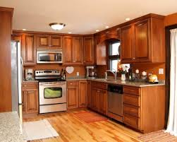 Maple Kitchen Cabinets Kitchen Contemporary Maple Kitchen Cabinets In Brown With White