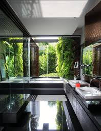 Tropical Themed Bathroom Ideas 25 Tropical Nature Bathrooms To Get Inspired Home Design And