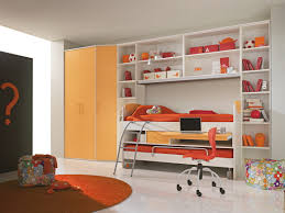 Unique Kids Bedroom Furniture Orange Study Room For Girls Kbhome Decorating Ideas Pinterest