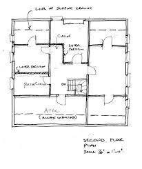 the simpsons house floor plan print