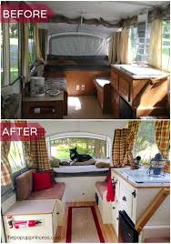 Pop Up Camper Interior Ideas by 35 Unbelievable Camper Remodel Before And After On A Budget U2014 Fres
