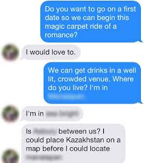 The ability to maintain funny  engaging threads of messaging will get you a lot of dates in the online dating world  Women are accustomed to receiving