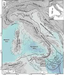 Tectonic Plate Map Simplified Tectonic Map Of Italy And Surrounding Areas Main