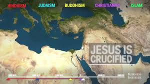Religions Of The World Map by Animated Map Shows How Religion Spread Around The World Youtube