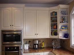 Kitchen Cabinet Glass Corner Cabinet With Glass Doors Homesfeed
