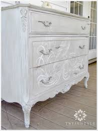 Hand Painted Furniture by Tweak U0026 Style Blog The Hand Painted Dresser How To Add A Hand