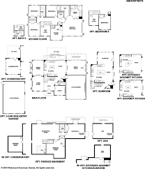 Sunroom Floor Plans by Amherst Floor Plan At Aldie Estates