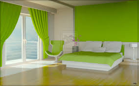 16 green color bedrooms a