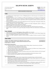 Sample Resume For Mechanical Design Engineer by Wiring Harness Design Engineer Cover Letter What Is A Good