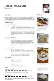 Pastry Chef Resume Examples by Sous Chef Resume Samples Visualcv Resume Samples Database