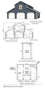 3 car loft designer garage plans blueprints 1600 1 38 x 30 behm 3 car garage plans
