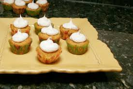 mini pumpkin cupcake recipe with frosting