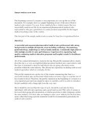 Cover Letter For Pharmaceutical Sales by Resume For Experienced Sales Professional