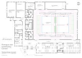 Community Center Floor Plans Presque Isle Community Center U2013 Show Your Support Quadomated