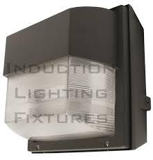 Cobra Head Light Fixtures by Iwh100 100 Watt Induction Outdoor Light Fixture Prismatic Square Wall