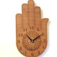 Unique Desk Clocks by Buddha Hand Wall Clock Wood Wall Clock Wood Clock Wall Clock