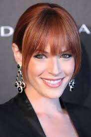 Good Hair Color For Green Eyes Amanda Righetti The Mentalist The Mentalist Pinterest