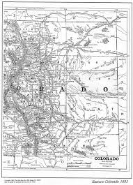 Southern Colorado Map by Colorado Maps Us Digital Map Library Table Of Contents Page