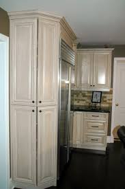 Kitchen Pantry Furniture Angled Pantry Cabinets Allow For Storage And No Sharp Corners