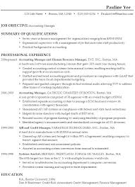 Summary Of Qualifications Sample Resume by Sample Resume For An Accounting Manager Susan Ireland Resumes