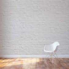 Fake Exposed Brick Wall White Brick Wall Mural Don U0027t You Just Love The Look Of Old Exposed
