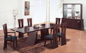 modern dining room tables and chairs with inspiration design 11940