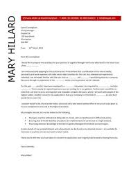 Logistics manager CV template  example  job description  supply