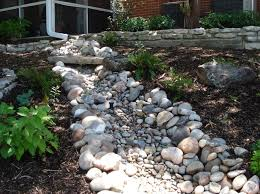 Amazing Dry River Bed Garden As Your Landscaping Design  River - Backyard river design