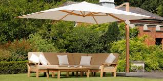 Patio Umbrella Side Table by Teak Garden Furniture Barlow Tyrie Garden Furniture