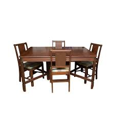 vintage hooker bassett furniture dining table and chair set ebth