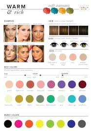 Best Hair Colors For Cool Skin Tones Best U0026 Worst Colors For Autumn Seasonal Color Analysis