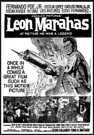 poster image of the film, Leon Marahas, borrowed from fpj-daking.blogspot.com