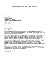 Resume Cover Letter Examples Cover Letter Sample For Retail Sales 3 Tips To Write Cover Letter