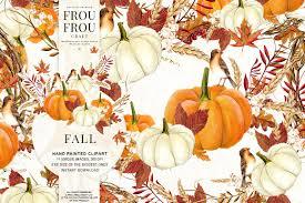 halloween clipart pumpkin fall clip art autumn clipart watercolor pumpkin halloween