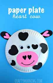 valentine u0027s day heart shaped animal crafts for kids crafty morning