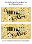 bnute productions: Printable Hollywood Glamour Party – Hollywood