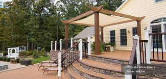 Small Pergola Kits by Low Maintenance Engineered Pergola Kits By Trex