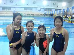 女子小中学生 水泳|2012年終了!