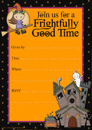 halloween card invitations u2013 festival collections