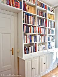 White Short Bookcase by Furniture Appealing Ikea Hemnes Bookcase For Office Room Storage