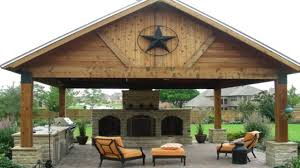 Outdoor Patio With Roof by Outdoor Kitchen Metal Roof Roofing Decoration