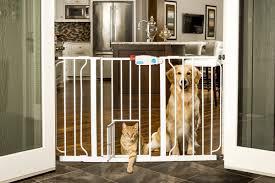 Pressure Mounted Baby Gate Carlson Pet Extra Wide Pet Gate U0026 Reviews Wayfair