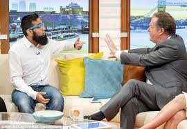 Muslim who runs      second wife      dating site says wanting multiple     Daily Mail He told Piers Morgan on Good Morning Britain  pictured  that he was      giving