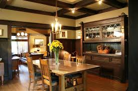 Craftsman Style Dining Room Furniture Remodeling Your Kitchen By Using Mission Style Decorating