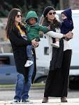 Sandra Bullock Image Sandra Bullock and Camila McConaughey Take Kids on a Play Date in ... Picture 2