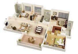 25 more 3 bedroom 3d floor plans architecture design 14 3 bedroom