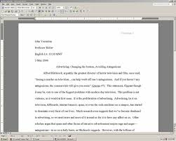 Essay Title Page Template  examples of footnotes apa style success